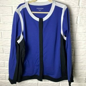 Soft Surroundings Jacket Plus Size 3X Snap Up